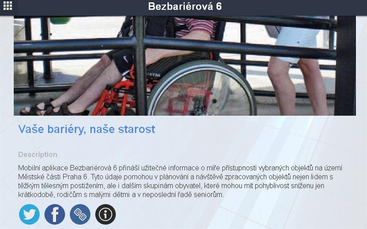 Bezbariérová 6- screenshot