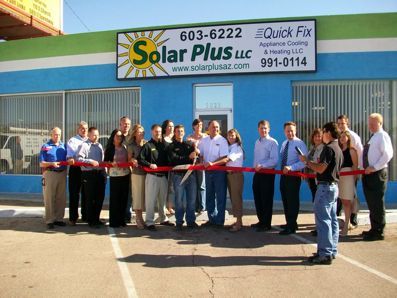 Solar Plus, LLC relocates to 5028 E. 22nd street, opening the largest showroom in the Southwest.  As an experienced solar installer, Solar Plus can handle all of the details of the project for you from the initial site visit to the final inspection.