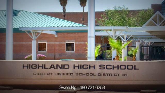 Highland High School, Gilbert AZ 85297