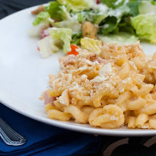 Macaroni and Cheese with Ham.
