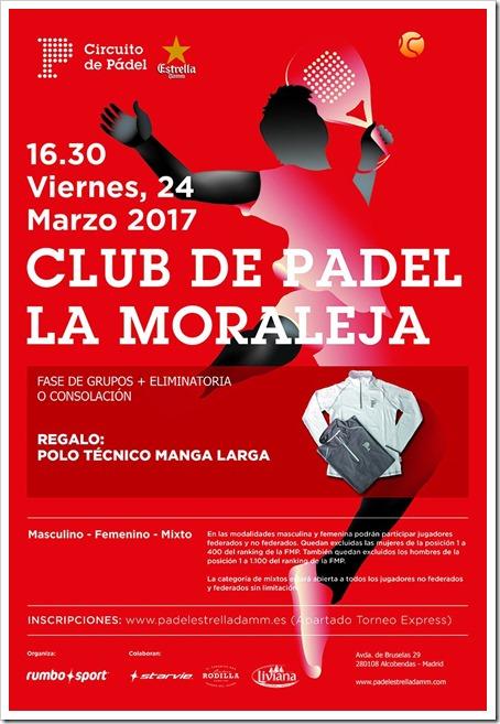 del 25 de marzo al 2 de abril en el Club de Pádel La Moraleja