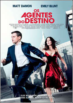Os Agentes Do Destino  BDRip AVI Dual Áudio + RMVB Dublado