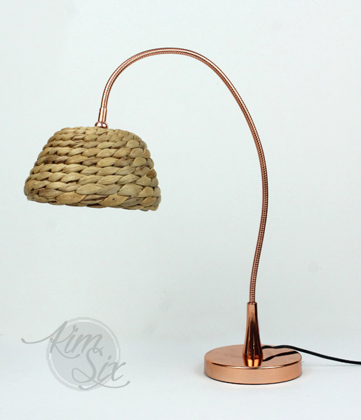 Ikea Hack wicker lampshade