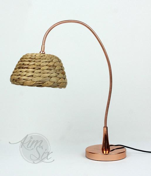 Ikea Hack wicker lampshade