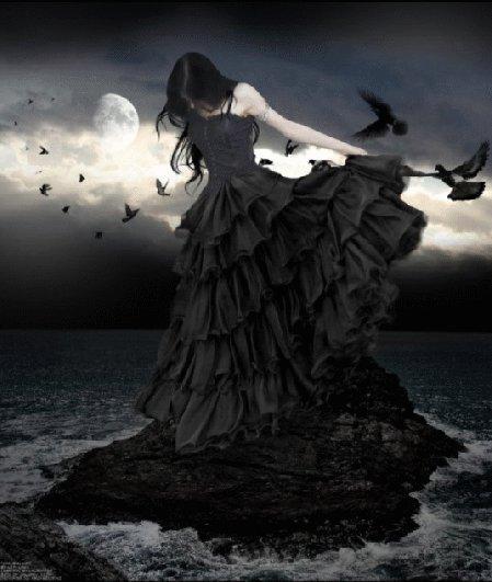 Black Raven Girl, Ravens