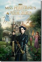 Miss Peregrine - La casa per ragazzi speciali - film - poster - Tim Burton