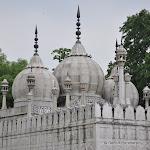 La mosqué de Lal Qila, Red Fort, Delhi