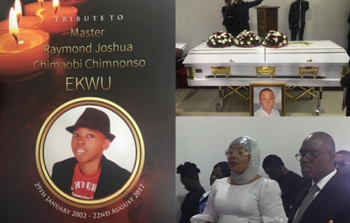 Celebrities Join Nollywood Actress, Eucharia Anunobi, as She Lays Her Son, Raymond to Rest (Photos)