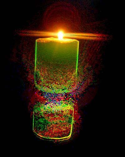 Candle Shining, Candle Magic