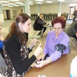 Spotkanie medyczne z Dr. Elizabeth Mikrut przy kawie i pączkach. Zdjęcia B. Kołodyński - SDC13594.JPG