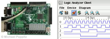 FPGA logic analyzer
