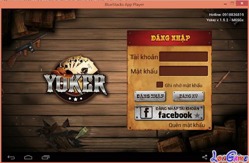 Hướng dẫn chơi game bài Yoker trên Máy tính, PC, Laptop