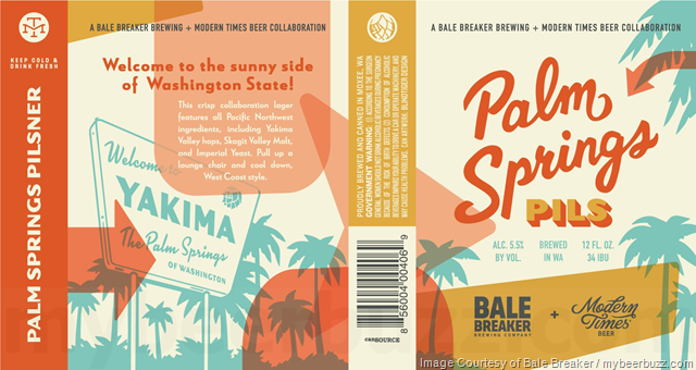 Bale Breaker & Modern Times Collaborate On Palm Springs Pils