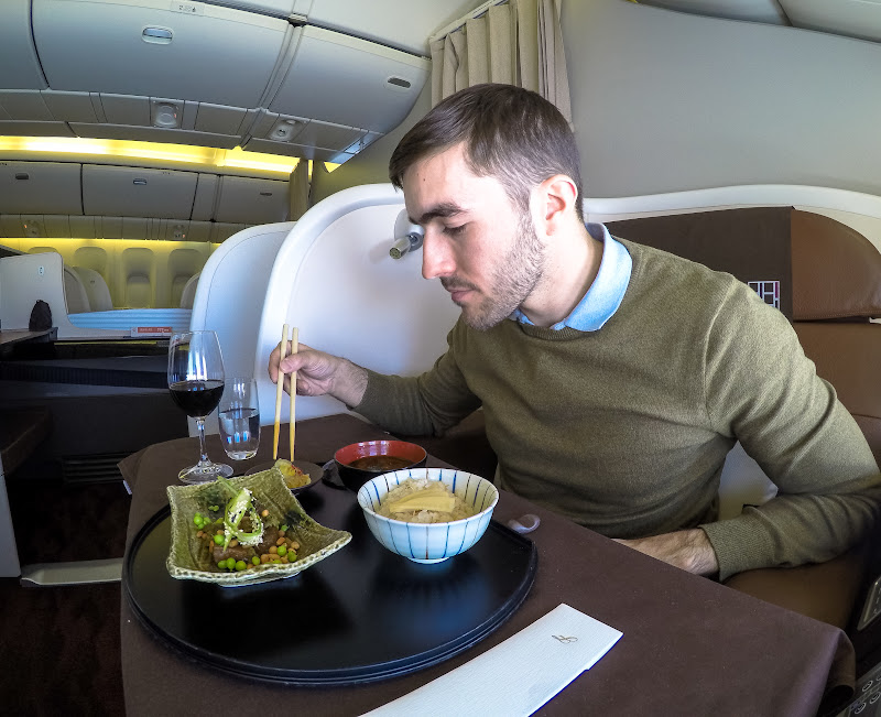 JL%252520F%252520HND LHR 109 - REVIEW - JAL : First Class - Tokyo Haneda to London (B77W)