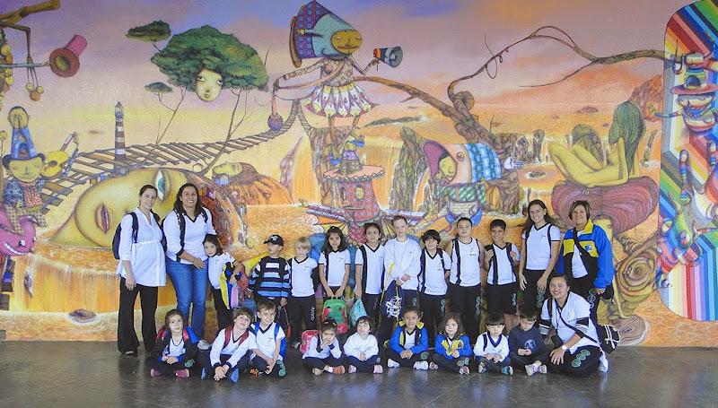 Arte no mundo – Arte na escola