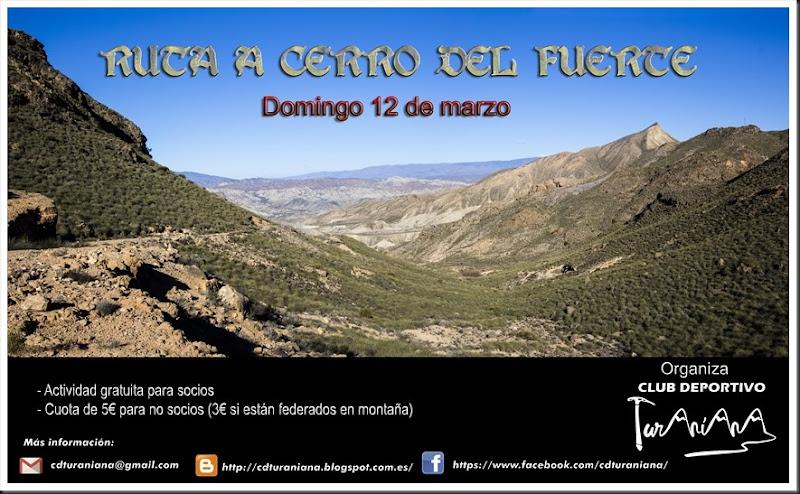 Cartel Ruta Cerro Fuerte