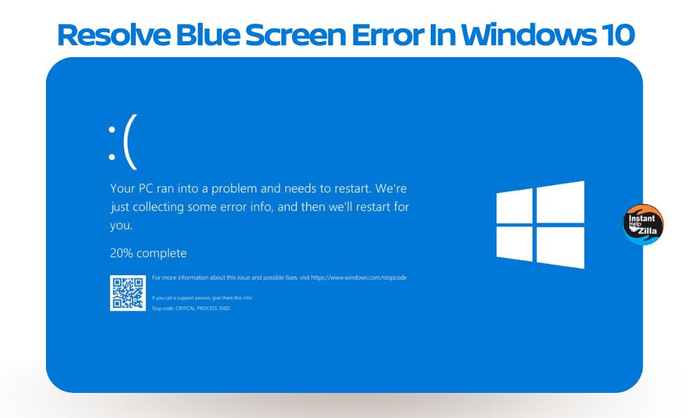 Resolve Blue Screen Error