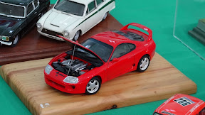 1:24 Toyota Supra RZ in red