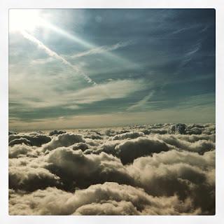 Wolken Flug Sonne