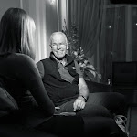 Lama Ole giving an interview in Chelyabinsk.jpg