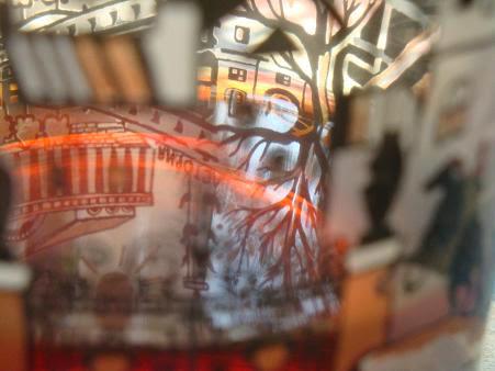 город и го отражение в чае
