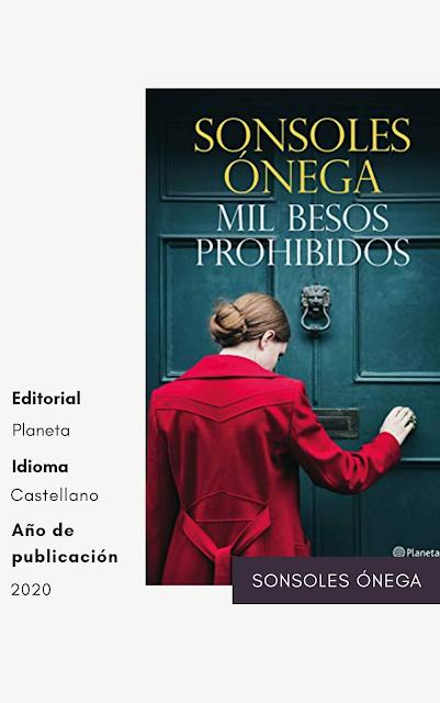 libro mil besos prohibidos sonsoles ónega