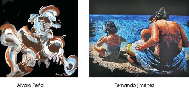 Retratos por encargo, Álvaro Peña y FernandoJiménez