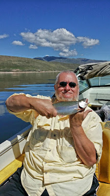 enjoy catching fish in the comfort of our Ut guides boat as you take in the spectacular lake views
