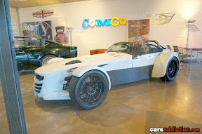 White Donkervoort D8 GTO