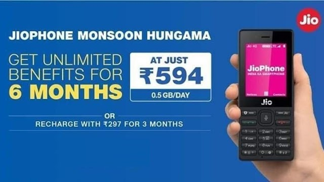 Jio launches Rs. 297 and Rs. 594 long-validity plans for JioPhone users