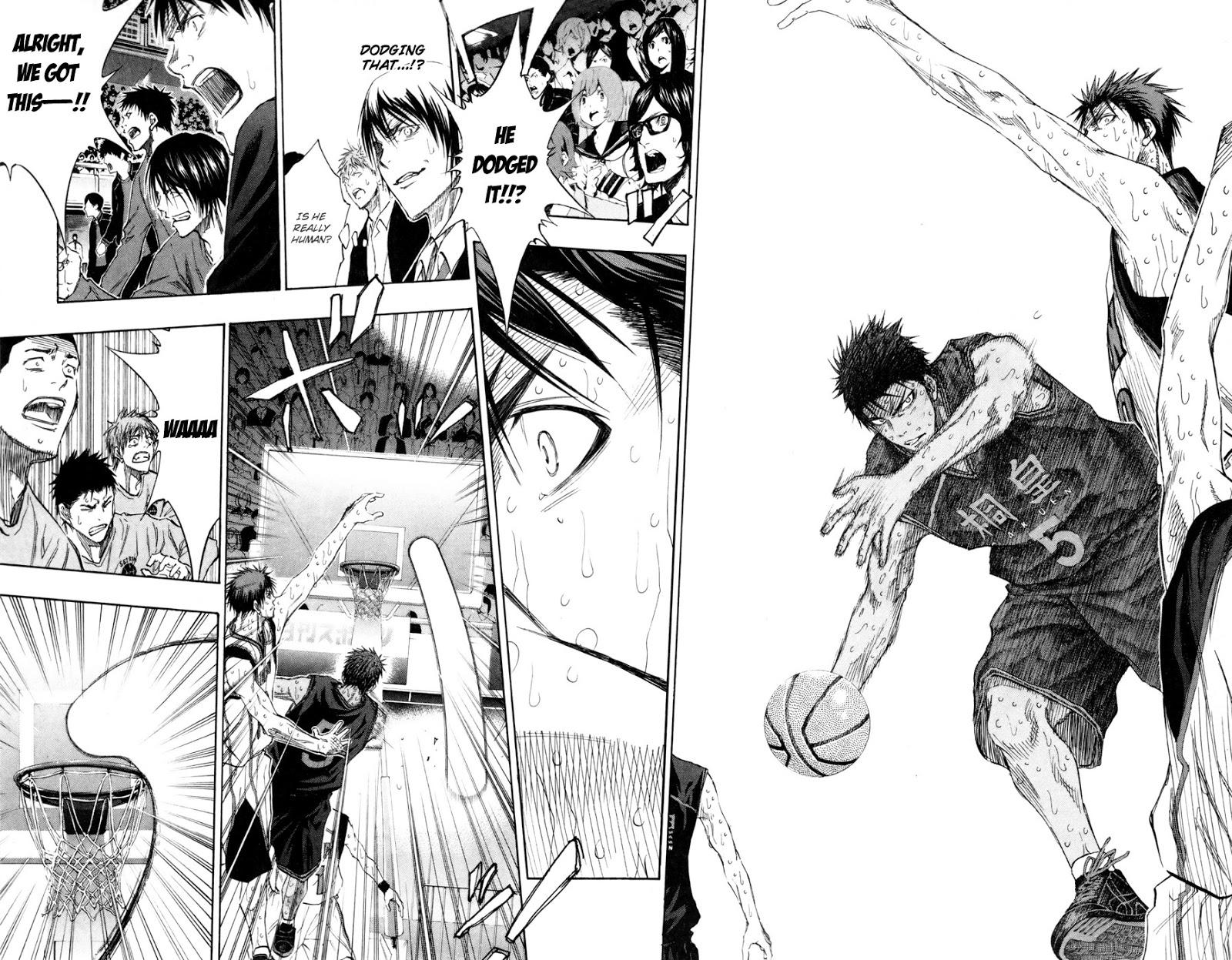 Kuroko no Basket Manga Chapter 132 - Image 08-08