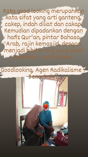 Good Looking, Agen Radikalisme? Benarkah?