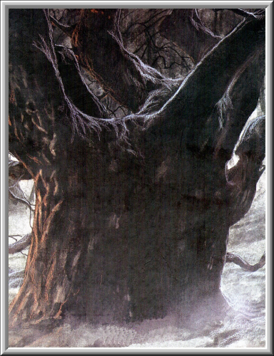 Old Evil Tree, Scary Halloween