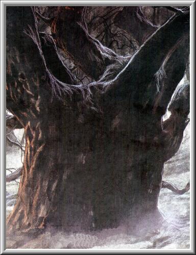 Old Evil Tree, Scary Halloween