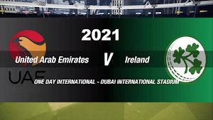 United Arab Emirates vs Ireland- Live Cricket Score, Commentary