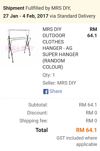 Lazada Outdoor Clothes Hanger