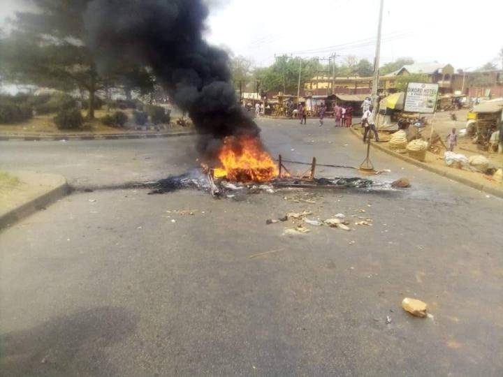 Breaking News: Serious Clash Between Hausa Community And Police In Abeokuta