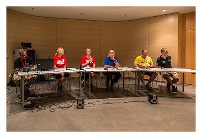 GeoXantike 2015 - Die Teilnehmer der Pressekonferenz