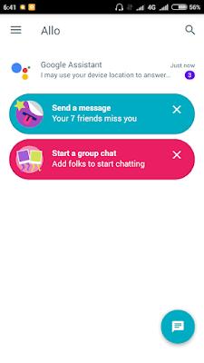 Google Allo Aplikasi Chatting Yang Di Gadang Sebagai Whatsapp dan Line Killer dari Google