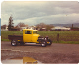 My first chopped down hot rod, a 31 Model A Ford, 401 with factory 2-4's. Sold it to build my 39 Ford.