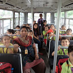 Field Trip of Sr.Kg (2014-15) to Parle G factory at Witty World.
