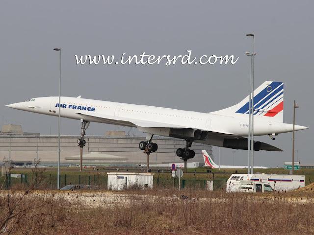 Um dos últimos Concorde