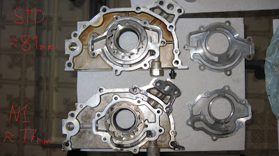 Nissan Oil Pump Comparison N1