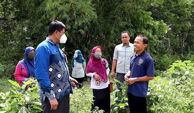 PPIU Kalsel Koordinasikan YESS Programme ke Petani Terbaik 2020 di Kabupaten Banjar