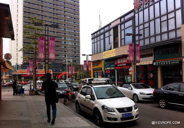 сямынь, китай, улица