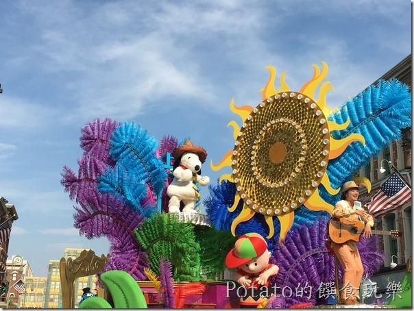 2016環球影城遊行花車3