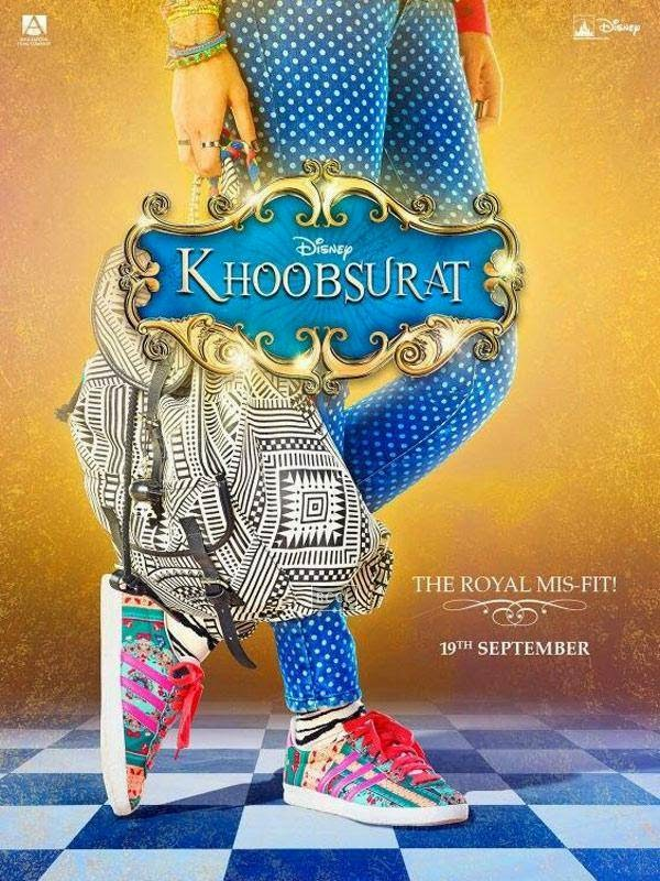 Poster of Bollywood film Khoobsurat starring Sonam Kapoor.
