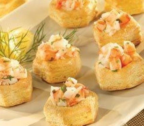 Mini Cream Puffs Hor D'oeuvre's Recipe