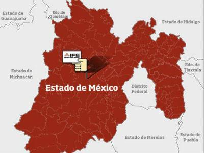 mapa estado mexico.