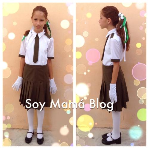 Sofía en la Escolta escolar